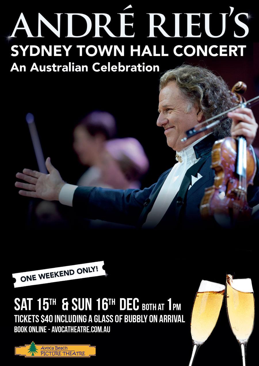 André Rieu's Sydney Town Hall Concert - Avoca Beach Picture