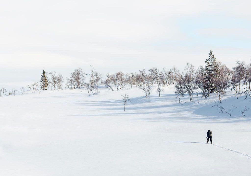 background snow